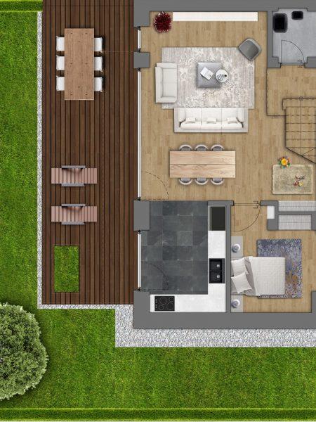 Villa Type X  total built area 159 sqm